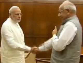 Haryana Governor meets PM Modi
