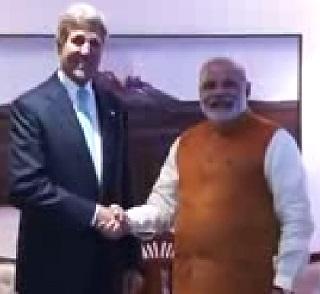 John Keery meets PM Narendra Modi