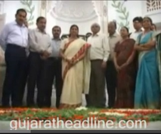 MJLibrary inaugurated by Meenakshiben Mayor of Ahmedabad
