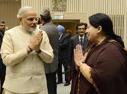 PM Narendra Modi and CM Jayalalitha