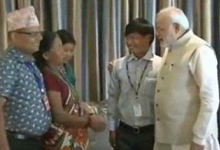 Nepal Jeet Bahadur meets family with help of PM Modi