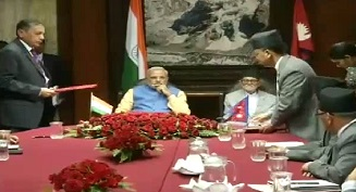 Nepal delegation level bilateral talks headed by PM Modi