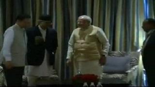 PM Modi meets Nepali Congress leaders
