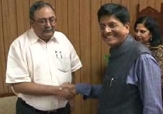 Piyush Goyal Saurabh Patel