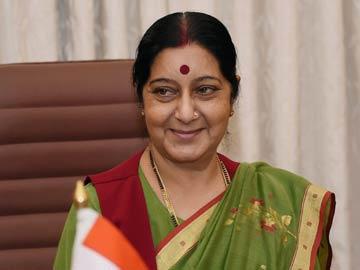 Sushma Swaraj MEA in Myanmar for ASEAN