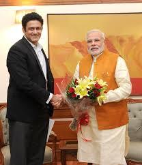 Cricketer Anil Kumble meets PM Narendra Modi