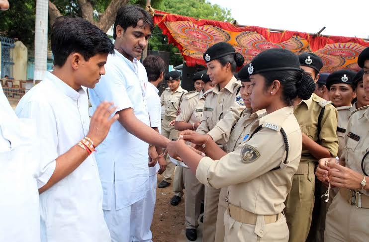 jail prisoners celebrate rakhi festival