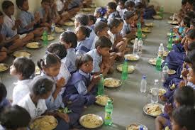 mid-day-meal chidren sick in MP