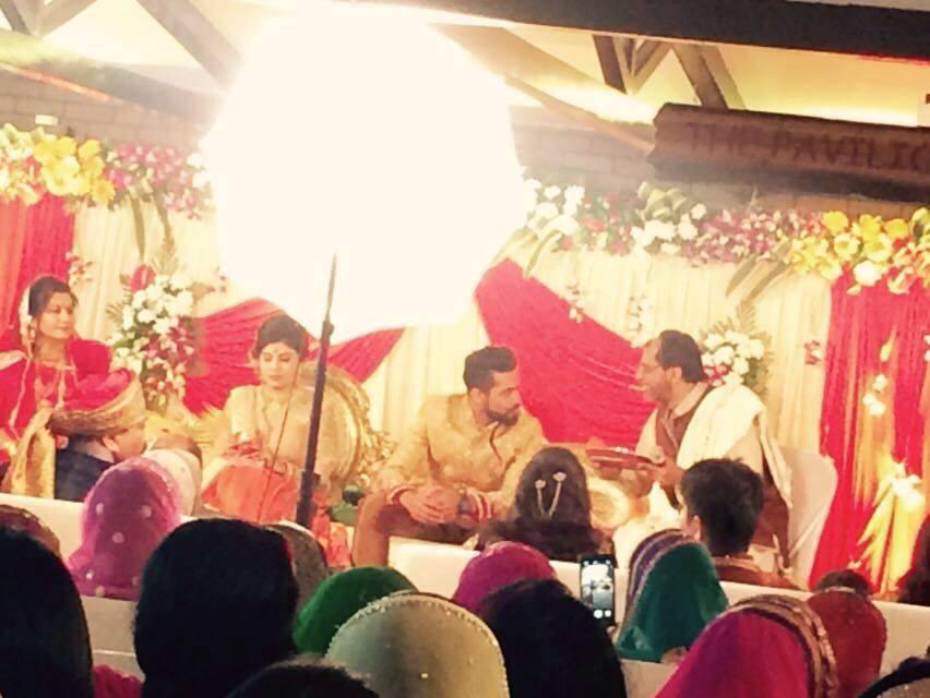 Ravindra Jadeja Engagement 1
