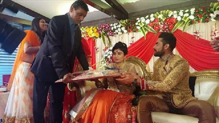 Ravindra Jadeja Engagement 4