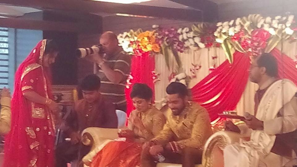 Ravindra Jadeja Engagement 6