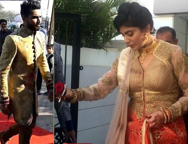 Ravindra Jadeja Engagement 8