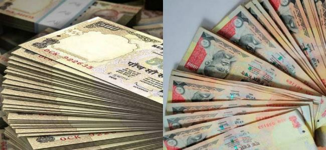 SOG arrested 2 persons with scrapped notes