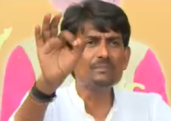 OBC leader Alpesh Thakor at Press conference