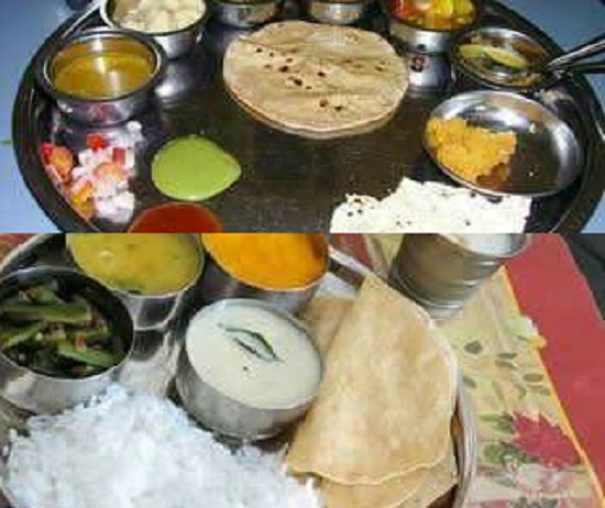 Gujarati Thali for Rs 10 in Rajkot