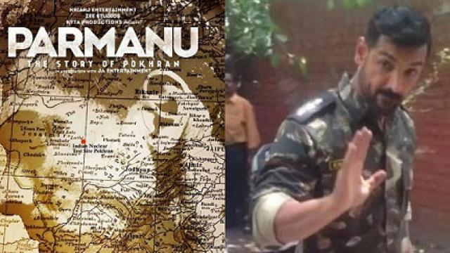 John Abraham launches poster of Parmanu