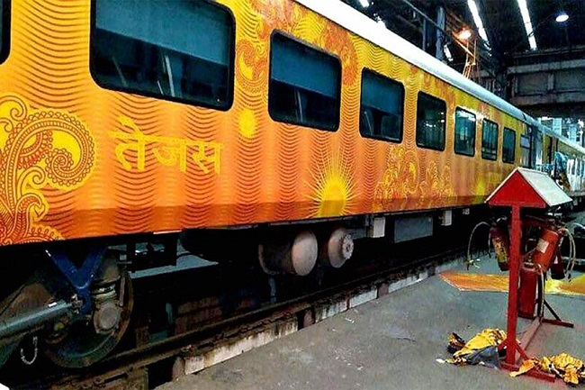 Tejas Express now between Mumbai and Ahmedabad