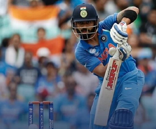 India vs Pakistan: Skipper Virat Kohli scored 81 not out