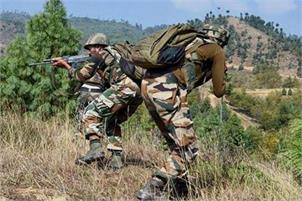attack along loc in J&K on 3rd consecutive day