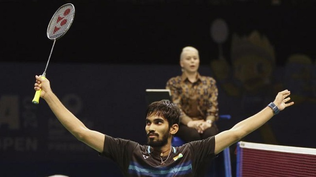 Indian Kidambi Srikanth wins Australian Open title