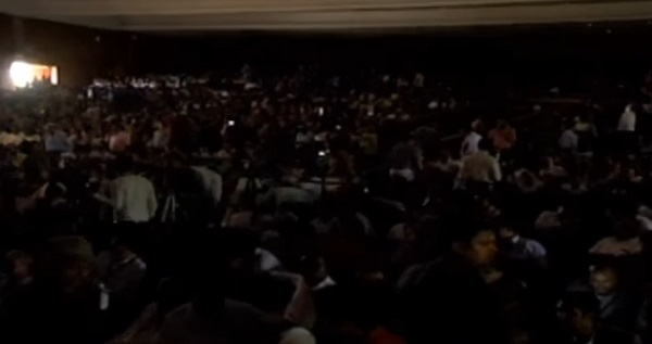 No electricity at education fair in Ahmedabad