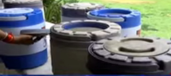 No water arrangement at education fair in Ahmedabad