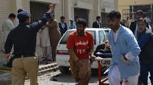 13 killed in Pakistan in suicide bombing