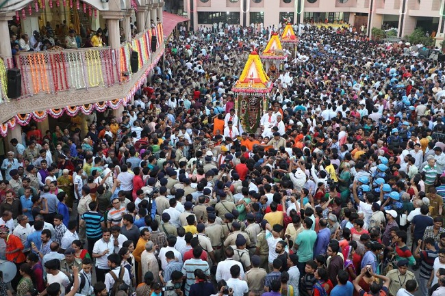 140th Rath Yatra of lord Jagannath in Ahmedabad