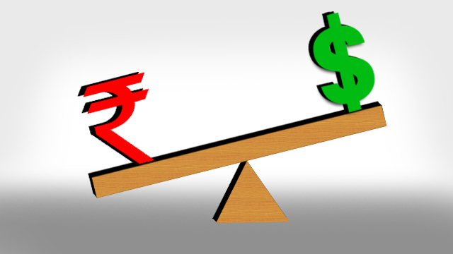rupee 7 paise up against US dollar
