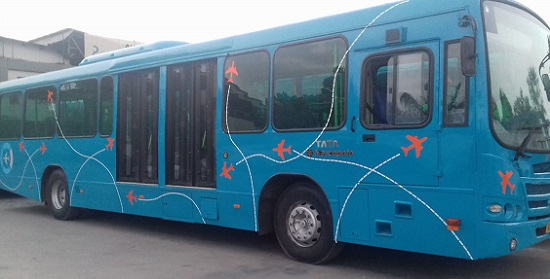 AMC launches route 1000 bus service to and fro to Ahmedabad Airport