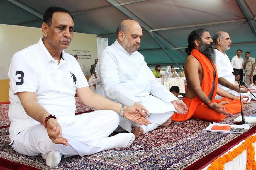 yoga day celebration in Ahmedabad