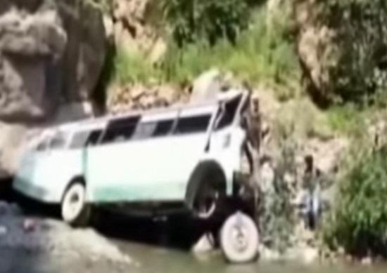 amarnath yatra bus gorge2