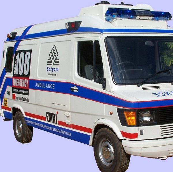 Ambulance Accident near Bawla
