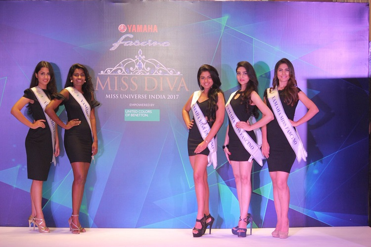 miss diva 2017 five finalists