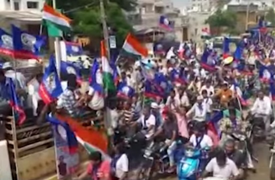 patidar rally in patan