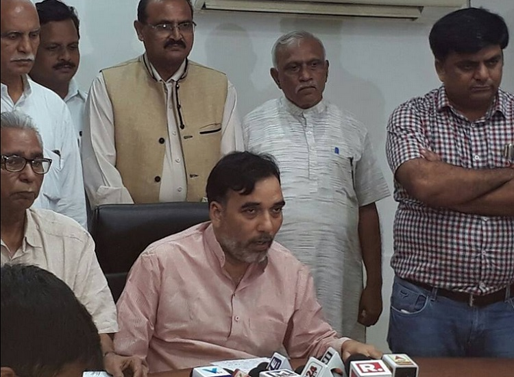 aap gopal rai press meet