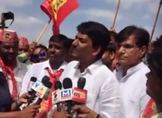 alpesh thakor obc leader janadesh maha rally