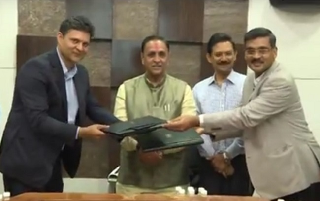 google india mou with gujarat