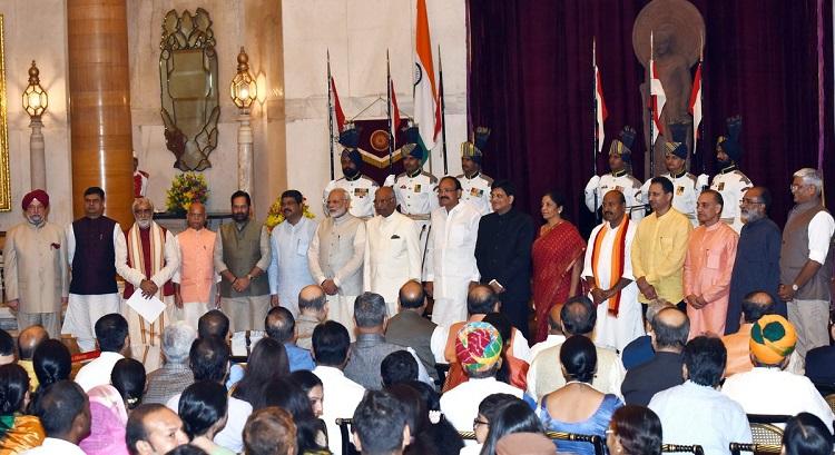 narendra modi cabinet 9 ministers