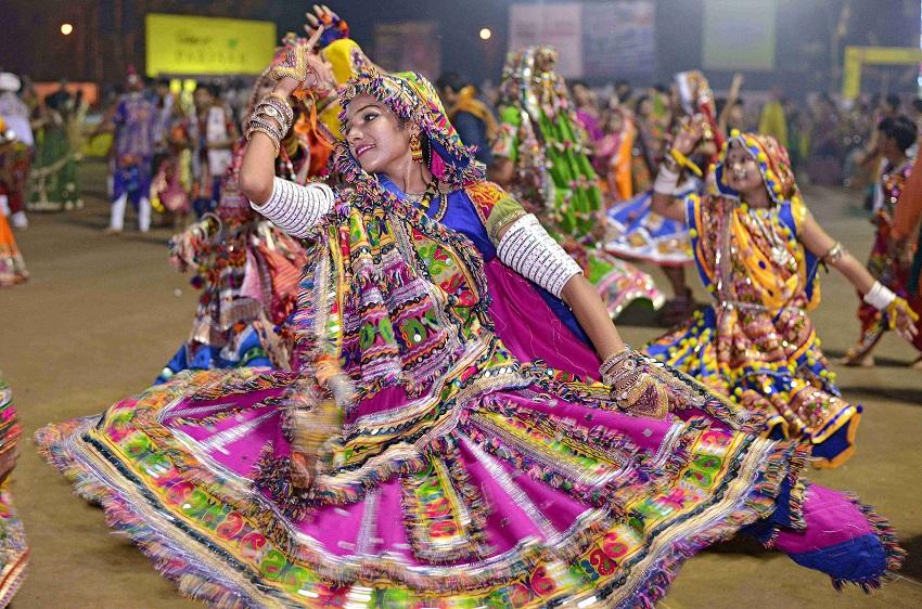 navratri festival in ahmedabad