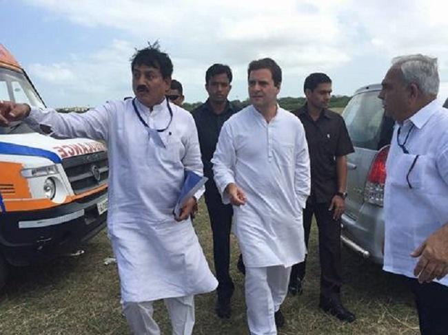 rahul gandhi gujarat visit