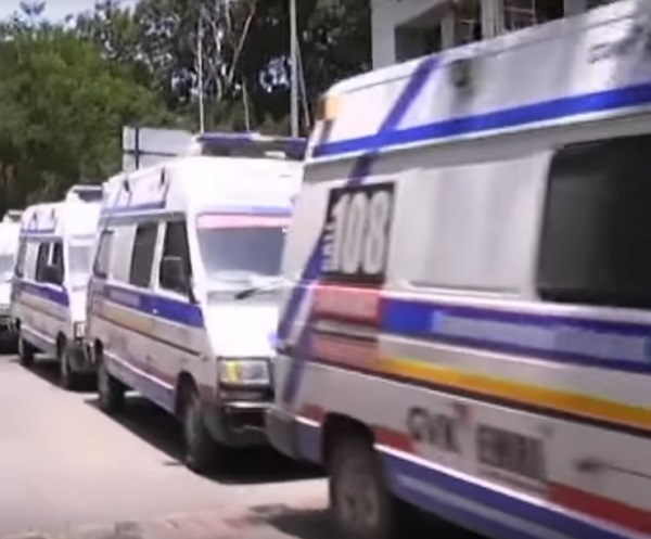 108 Ambulance services available during Diwali