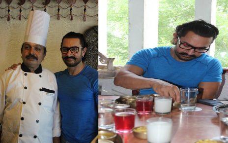 Aamir Khan loves Gujarati food