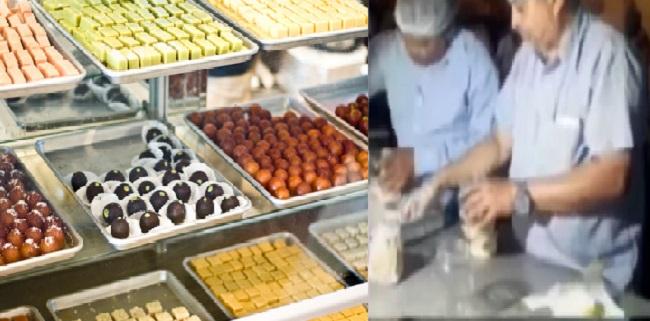 AMC team raid at sweet shop before Diwali