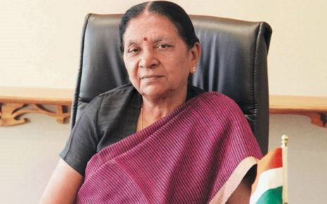 Anandiben Patel's letter to Amit Shah for not contesting