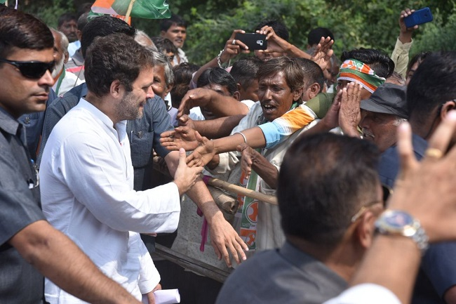 Rahul Gandhi gets good response from people