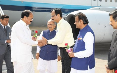 Venkaiah Naidu vice president visits Ahmedabad