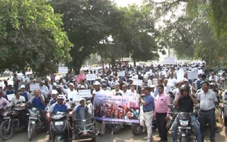 ahmedabad teachers bike rally on voter awareness campaign