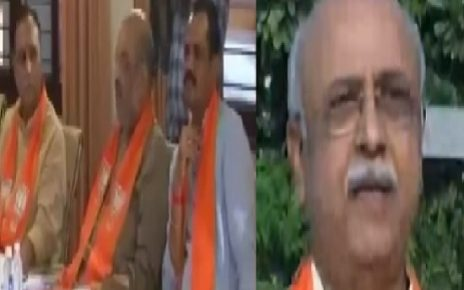 BJP Parliamentary board on Gujarat assembly elections