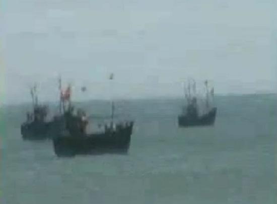 boat capsized at porbandar